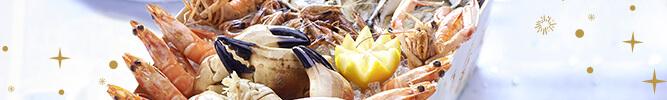 Plateaux de fruits de mer