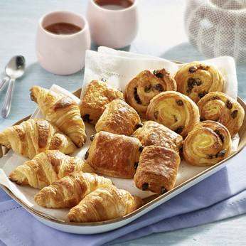 Assortiment de 10 minis viennoiseries