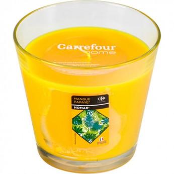 1 bougie parfumée mangue papaye_carrefour_traiteur