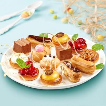 24 gâteaux lunch