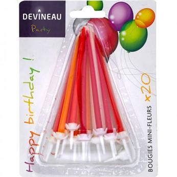 20 bougies mini-fleurs_carrefour_traiteur
