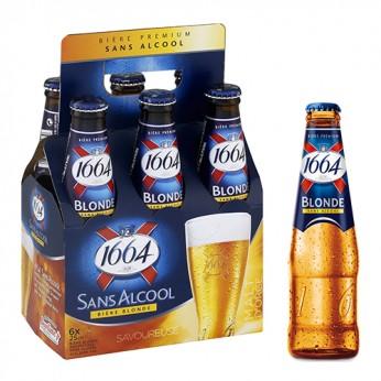 6 bières 1664 sans alcool