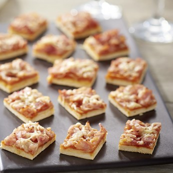 Pizza jambon fromage - 66 toasts