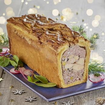 Pâté en croute de chapon pistache