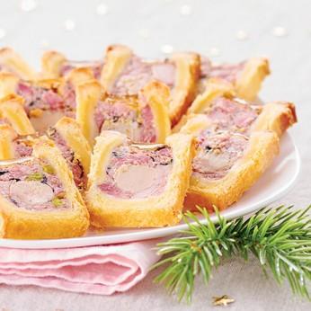 Petits pâtés en croute au foie de canard
