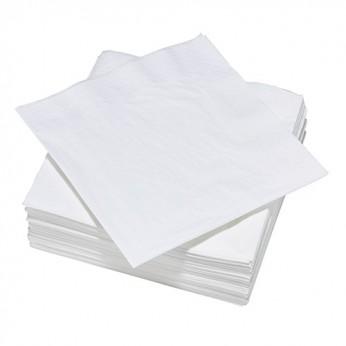 100 serviettes blanches 3 plis - 40cm_carrefour_traiteur