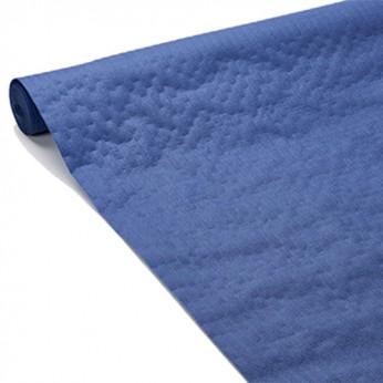 1 nappe gaufrée bleue nuit - 20m