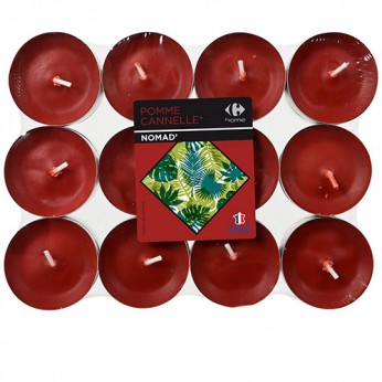 24 chauffes plats terracota