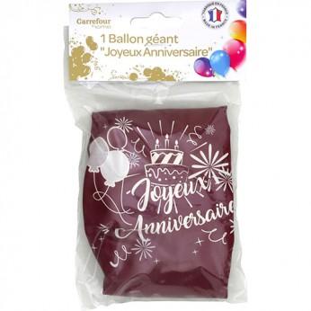 1 ballon géant joyeux anniversaire - 90cm_carrefour_traiteur