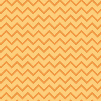 30 serviettes 3 plis chevron orange - 33cm