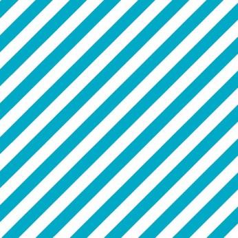 30 serviettes 3 plis diagonale turquoise - 33cm