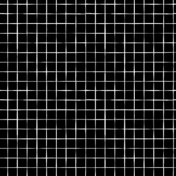 30 serviettes 3 plis grilles noires - 33cm
