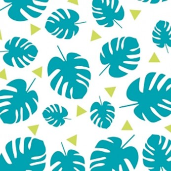 30 serviettes 3 plis tropical - 33cm