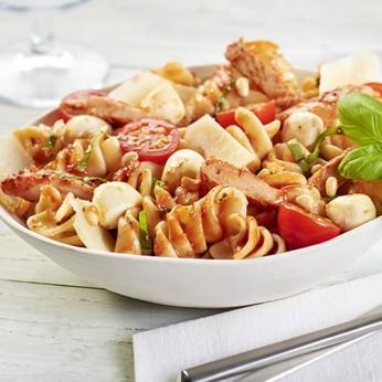 Fusilloni poulet tomates mi-sechees fromage italien - 4/5 parts