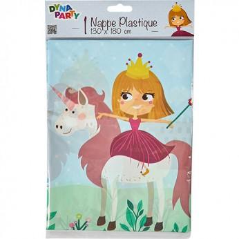 1 nappe princesse licorne - 1,80m