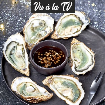 6 huîtres fines de claires Marennes Oléron Filière Qualité Carrefour