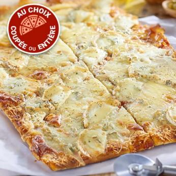 Pizza aux 4 fromages - 4 parts