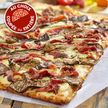 La Pizza aux légumes du soleil - 8 parts