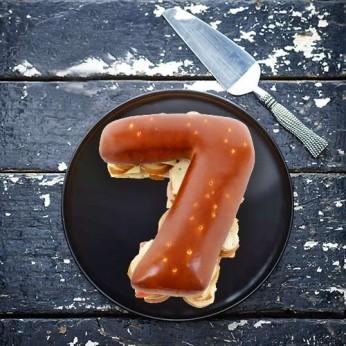Pain surprise Chiffre '7' garni - 20 Toasts