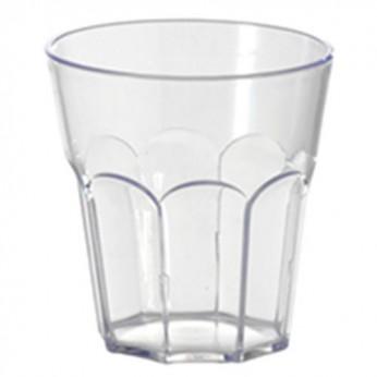 1 petit verre à facettes - 18cl