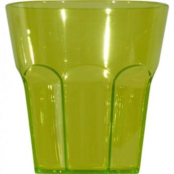 1 petit verre à facettes