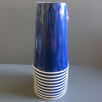 Gobelet bleu en carton - 45cl