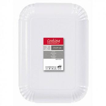 2 plateaux blanc - 20,5X29cm_carrefour_traiteur