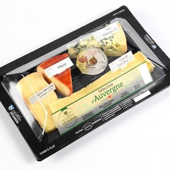 Assiette fromagère d'Auvergne