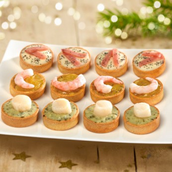 Assortiment de 12 Mini Tartes