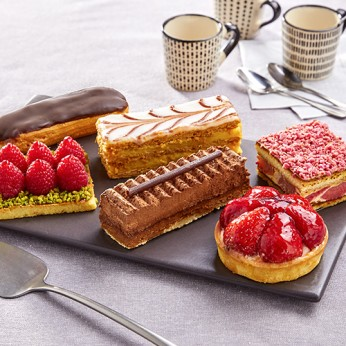 Assortiment de 6 pâtisseries gourmandes