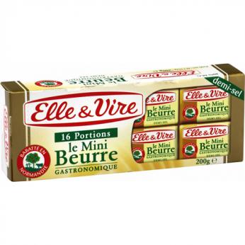 16 Beurres demi-sel Elle & vire