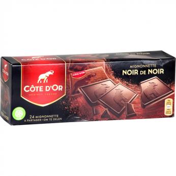 24 Bonbons mignonnettes chocolat noir Côte d'Or