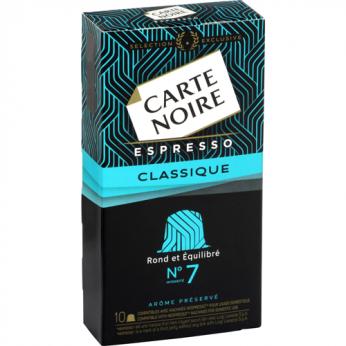 Café capsules Classique n°7 Carte Noire
