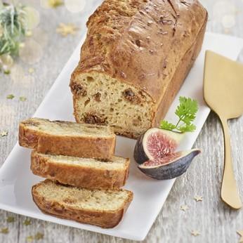 Cake foie gras et figues
