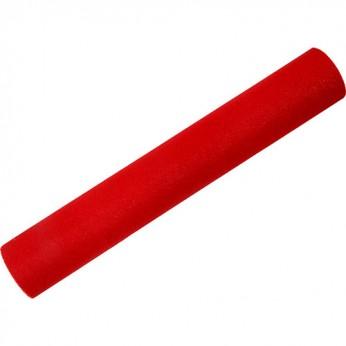 1 chemin de table rouge - 4,80m