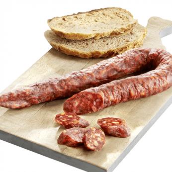 Chorizo courbe fort au piment