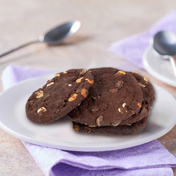 4 Cookies double chocolat