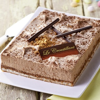 Croustillant chocolait - 6/8 parts