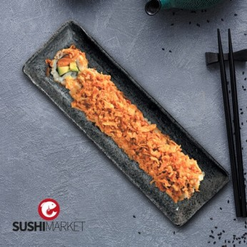 6 california rolls crunch salmon