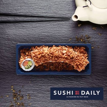 8 Crunch Saumon Roll