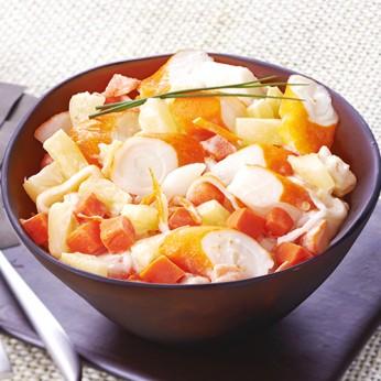 Duo ananas carottes et surimi - 1,5kg