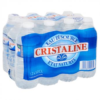 Eau de source état naturel Cristaline