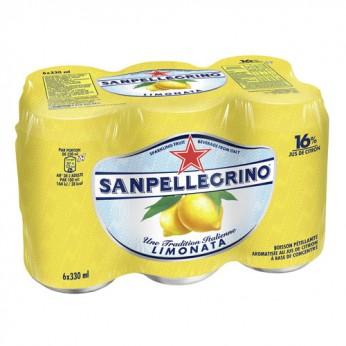 Eau gazeuse au jus de citron Sanpellegrino