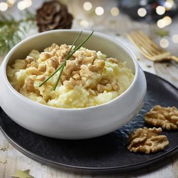 Concassé de pommes de terre aux noix