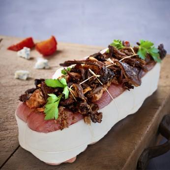 Filet mignon de porc forestier