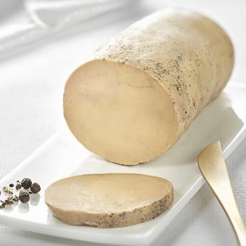 Foie gras de canard entier MONTFORT – Création liqueur de genièvre, maniguette et gingembre.