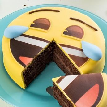 """Gâteau Emoji """"Eclats de rire"""""""