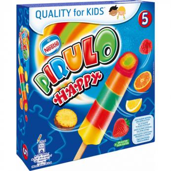 5 Glaces à l'eau Happy Pirulo
