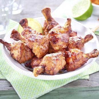 Grignottes de poulet à l'indienne