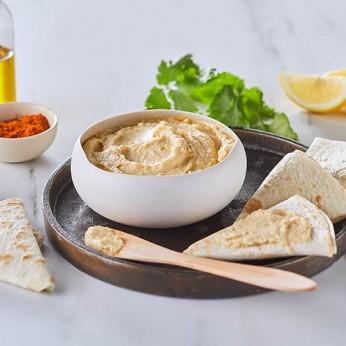Houmous au yaourt grec - pois chiches et citron vert